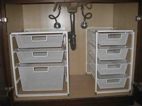 Under Cabinet Bathroom Storage   Decor IdeasDecor Ideas