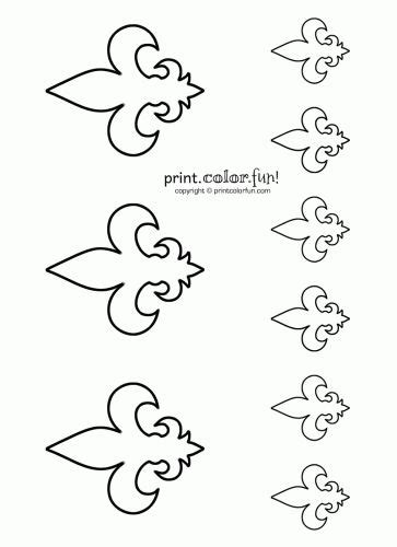 small tent card template free fleur de lis 17 best images about coloring book pages on