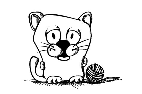 sleeping kitten coloring page free coloring pages of sleeping cat