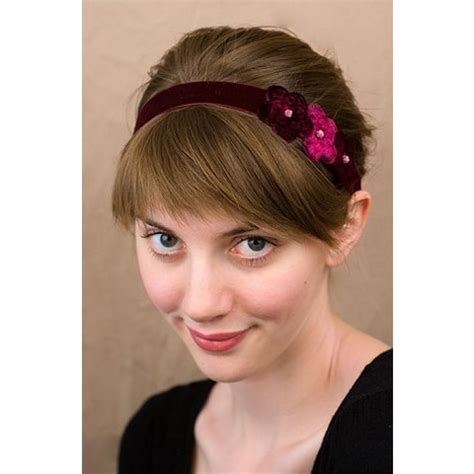 hairstyles with headbands foe mature women cute and stylish headbands for women 2013 inkcloth