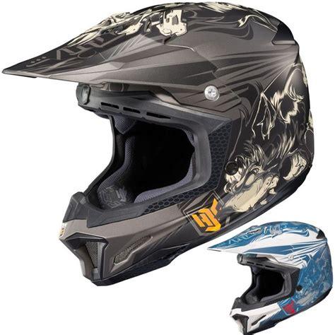 mens motocross helmets dp hjc cl x7 el lobo mens motocross helmets motocross