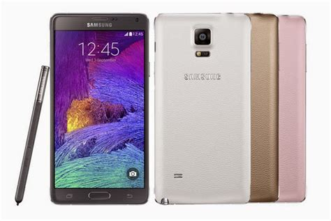 samsung galaxy note 4 complete specs and features techno guide