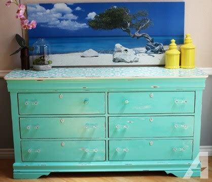 Shabby Chic Dresser For Sale by Obo Mint Shabby Chic Dresser For Sale In Los Angeles