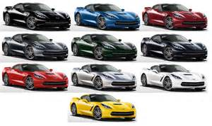 2015 corvette stingray colors 2015 corvette pricing and options 2017 2018 best cars