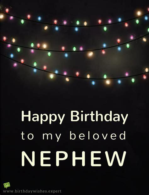 Happy Birthday My Nephew Wishes Happy Birthday Nephew