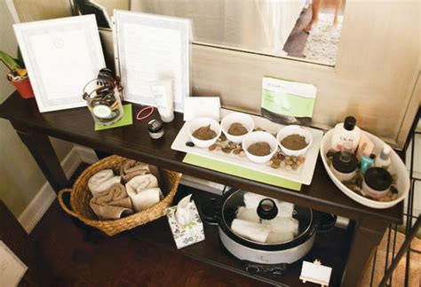fresh relaxing spa ideas hostess with the mostess 174