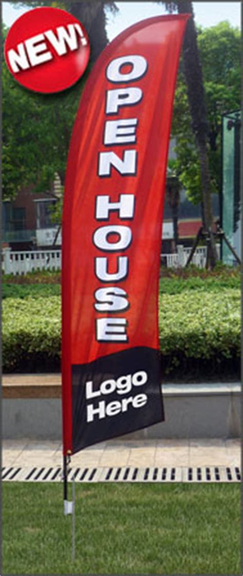 real estate open house flags keller williams realty signs open house directional signs at deesign