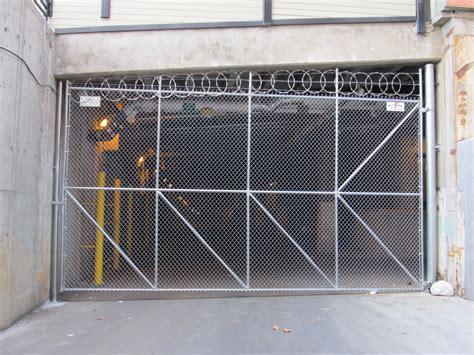 chain link swing gate commercial chain link gates olympic fence