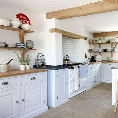 open shelving country kitchen ideas housetohome co uk country kitchen storage ideas housetohome co uk
