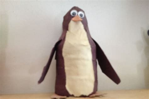 How To Make A Paper Mache Penguin - paper m 226 ch 233 penguin diy