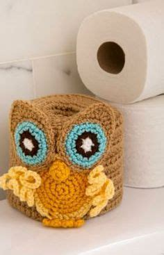crochet owl toilet seat cover pattern 1000 images about for your bath crochet on