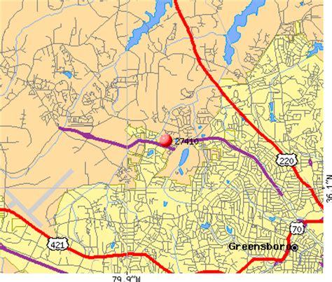 greensboro zip code map 27410 zip code greensboro carolina profile