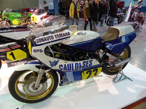 Lu Motor yamaha tz 500 auf der international motor show in