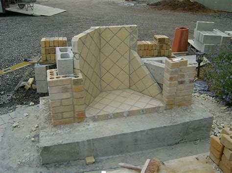 inspiring outdoor fireplace construction plans 21 photo