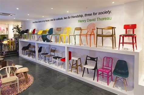 cult furniture showroom eames chair creative inspiration