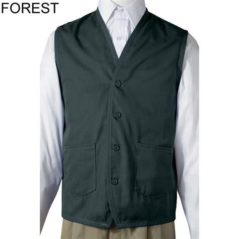 vest with pockets edwards unisex apron vest with waist pocket 4106