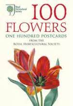 100 flowers from the 0711234809 100 flowers from the rhs 100 postcards in a box royal horticultural society 9780711234802