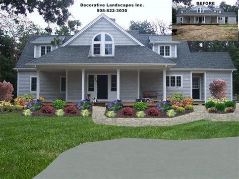 Landscape Design Ideas Front Of House by Front Yard Residential Landscape Design Front Of Home Landscape Designs Front