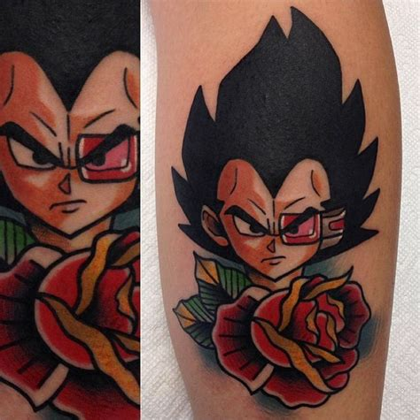 tattoo dragon neo traditional vegeta tattoo by adam perj tatuaje de vegeta vegeta