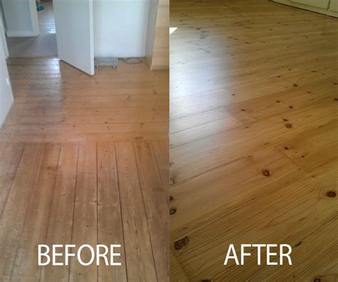 Reclaimed Wood Vs New Wood before and after photos richmond step flooring ltd