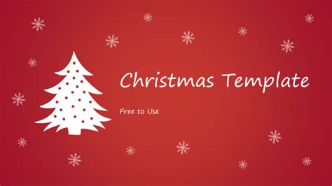 free christmas powerpoint template powerpoint tips and