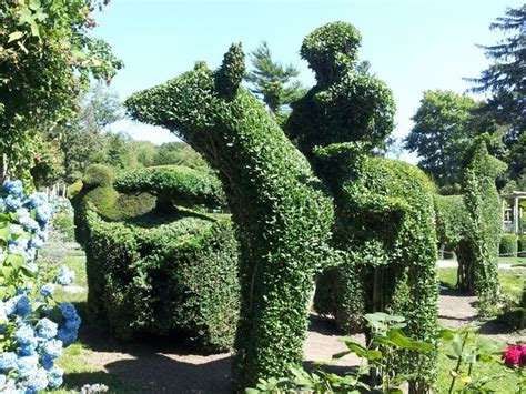green animals topiary garden pin by tabatha on rhode island tour