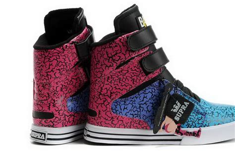 supra shoes pink and black www imgkid the image