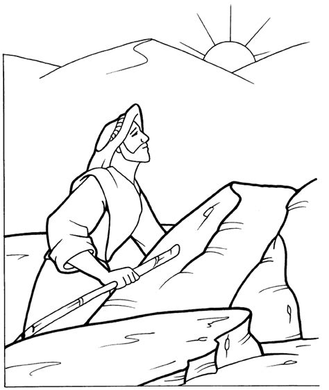 coloring pages jesus tempted desert jesus in the wilderness