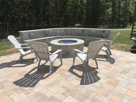 gas bench firepit patio home interior eksterior