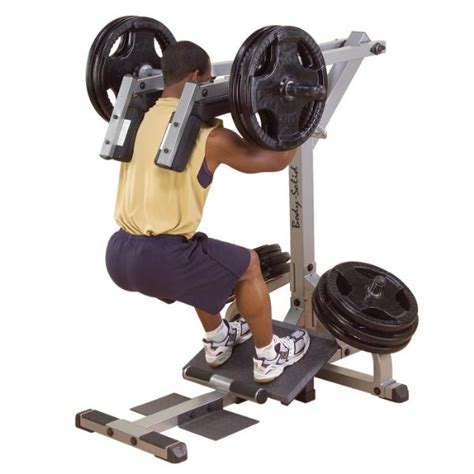 Homegym 3 Sisi Type Hg8309 bodysolid leverage squat calf raise machine gscl360 new ebay