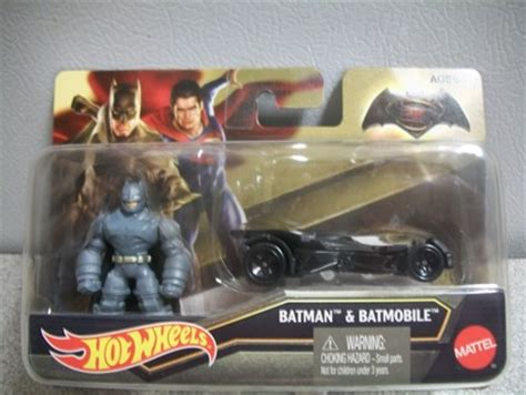 Hotwheels Bvs free bvs batman batmobile wheels combo pack collectible toys listia auctions for