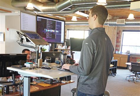 Three Ways Standing While I Work Helps Me Stay Sharp Desk For Standing While Working