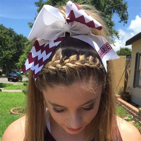 pictures of cheer hair styles gymnastics cheer competition hairstyles flipping along