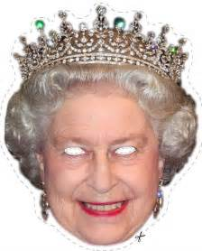 free queen elizabeth printable mask for halloween free
