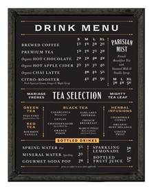 Home Menu Board Design Best 25 Blackboard Menu Ideas On Pinterest