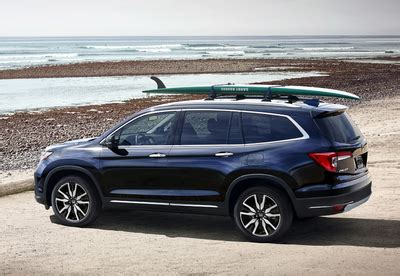 2019 honda pilot with a new styling, new technology and