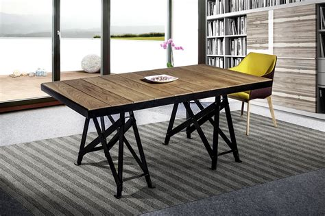 mesas comedor estilo industrial  artenogal en muebles