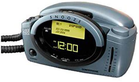 amazon.com : conair cid400 clock radio phone with caller