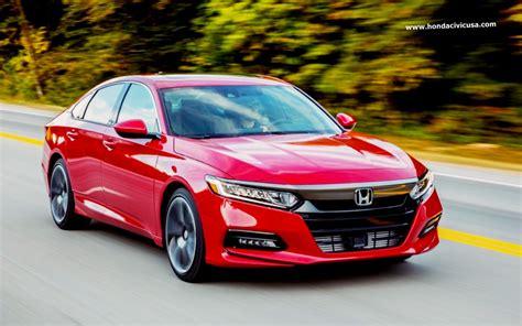 2020 Honda Accord Coupe Sedan by 2020 Honda Accord Sedan New Design And Specs Honda Civic