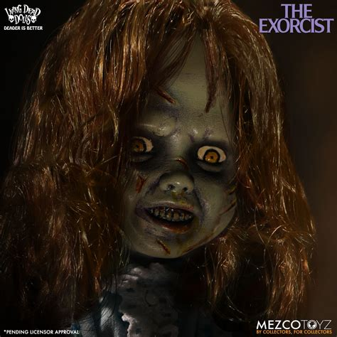 The Dead And The Living living dead dolls the exorcist regan doll geekalerts