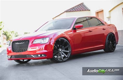 Black Rims For Chrysler 300 by Chrysler 300 Custom Wheels Velocity Vw 12 24x9 5 Et