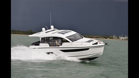 first motor boat sealine c430 first look motor boat yachting youtube