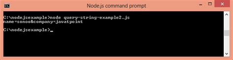 node js query string tutorial node js query strings javatpoint