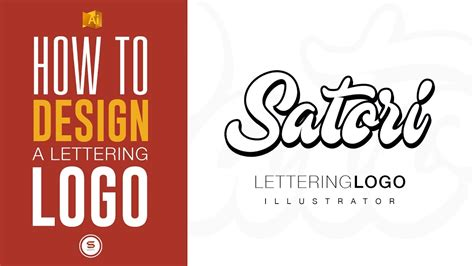 lettering logo tutorial lettering logo design illustrator typography tutorial