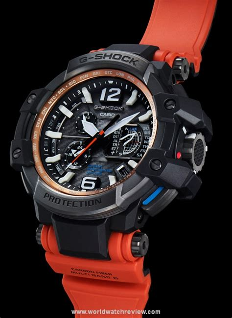 Gshock Gpw1000 Orange casio g shock gravitymaster gpw 1000 world review