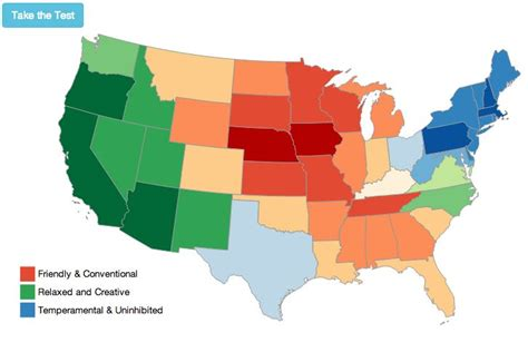 us map of states interactive america s mood map an interactive guide to the united