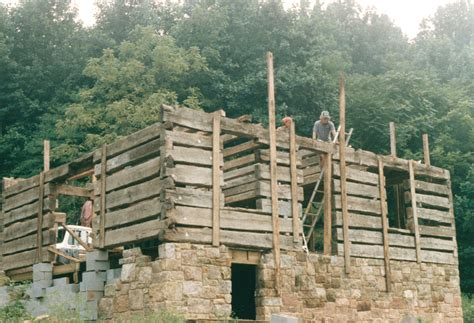 Log Cabin Foundation Options by Log Cabin Foundation Options Rebuilding Proud Of The