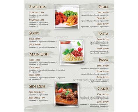 Menu Design Vorlagen 13 best speisekarten vorlagen images on