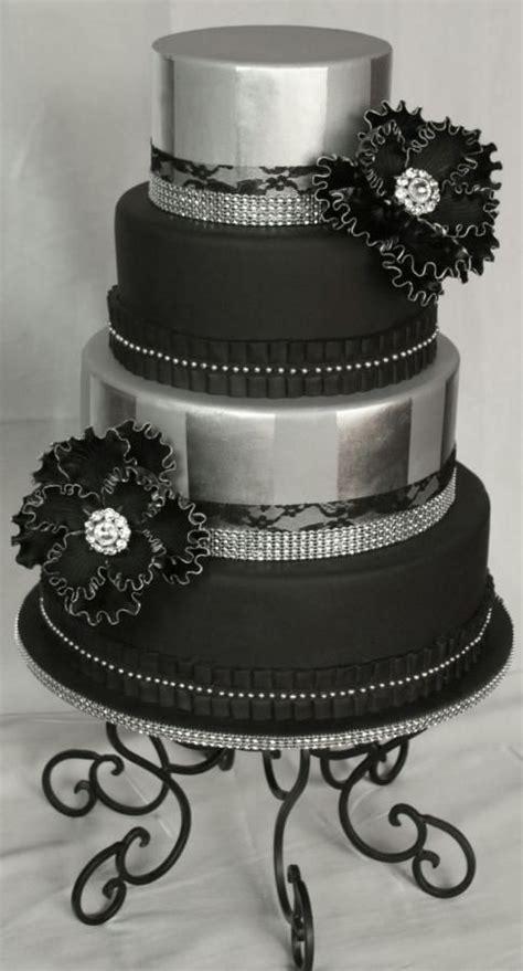 17 Best ideas about Black Silver Wedding on Pinterest