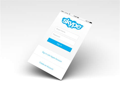 login from mobile skype mobile login screen on behance
